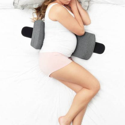 Belly Bandit Pregnancy sleep on side pillow