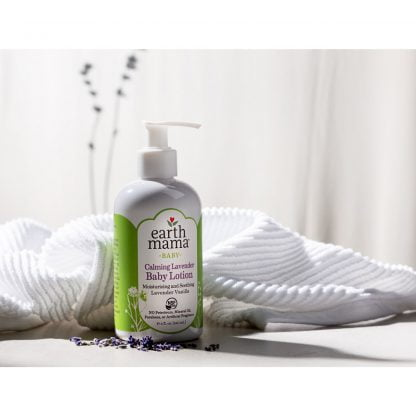 Earth mama organics calming lavender baby lotion 2