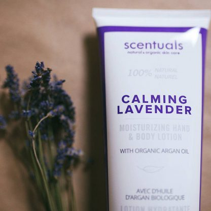 Scentuals calming lavender hand and body lotion 2