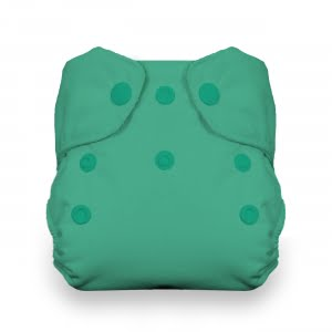 Thirsties green diaper