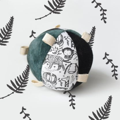 Taggy Ball with Rattle